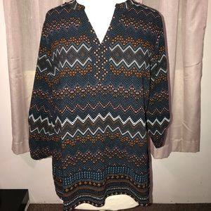 Notations Tribal Blouse